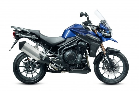 The 2012 Triumph Tiger 1200 Explorer - Side View